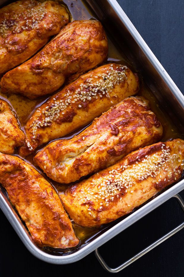 Healthy Baked Chicken Breast  Healthy Dinner Recipes 22 Fast Meals for Busy Nights