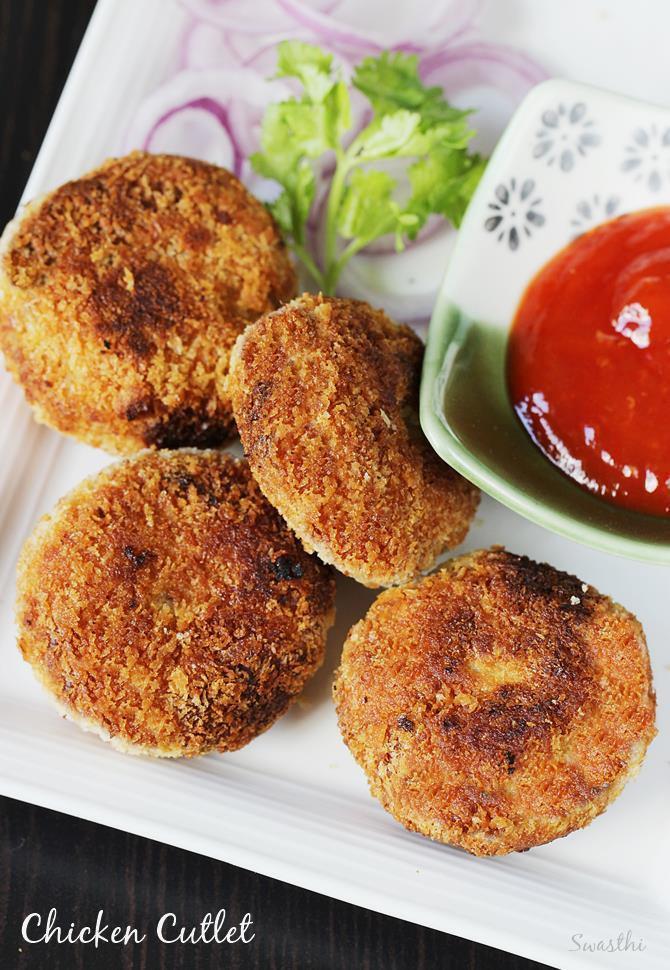 Healthy Baked Chicken Cutlets  Chicken cutlet recipe Chicken patties