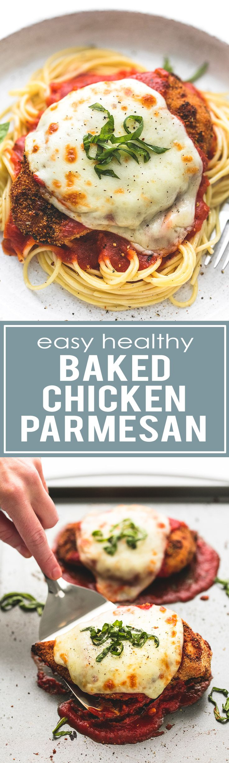 Healthy Baked Chicken Parmesan  Easy Healthy Baked Chicken Parmesan