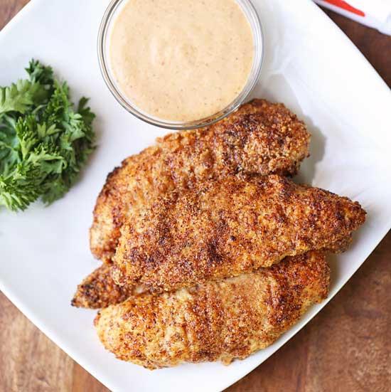 Healthy Baked Chicken Tender Recipes  Baked Chicken Tenders Recipe VIDEO