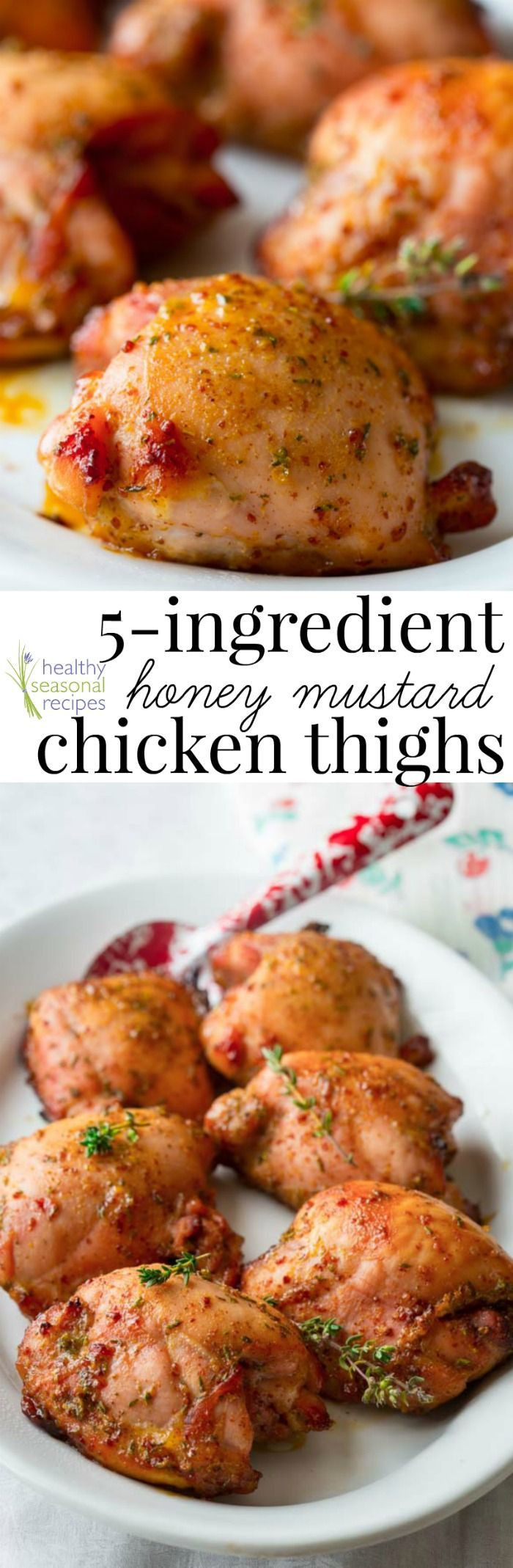 Healthy Baked Chicken Thigh Recipes  100 Healthy Chicken Thigh Recipes on Pinterest