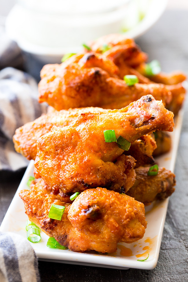 Healthy Baked Chicken Wings  Crispy Baked Buffalo Chicken Wings Paleo Whole30