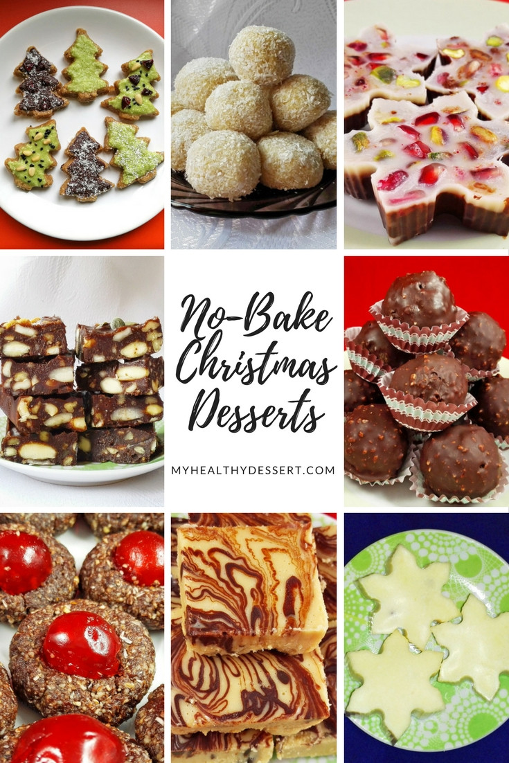 Healthy Baked Desserts  Delicious No Bake Christmas Desserts My Healthy Dessert
