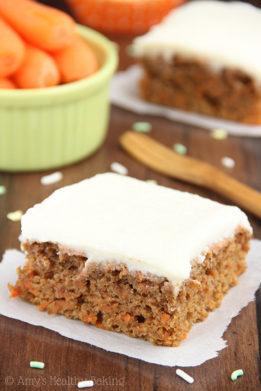 Healthy Baked Desserts  baked carrot dessert