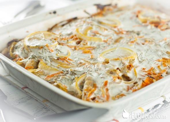 Healthy Baked Fish Recipes  Baked White Fish Recipe iFOODreal Healthy Family Recipes