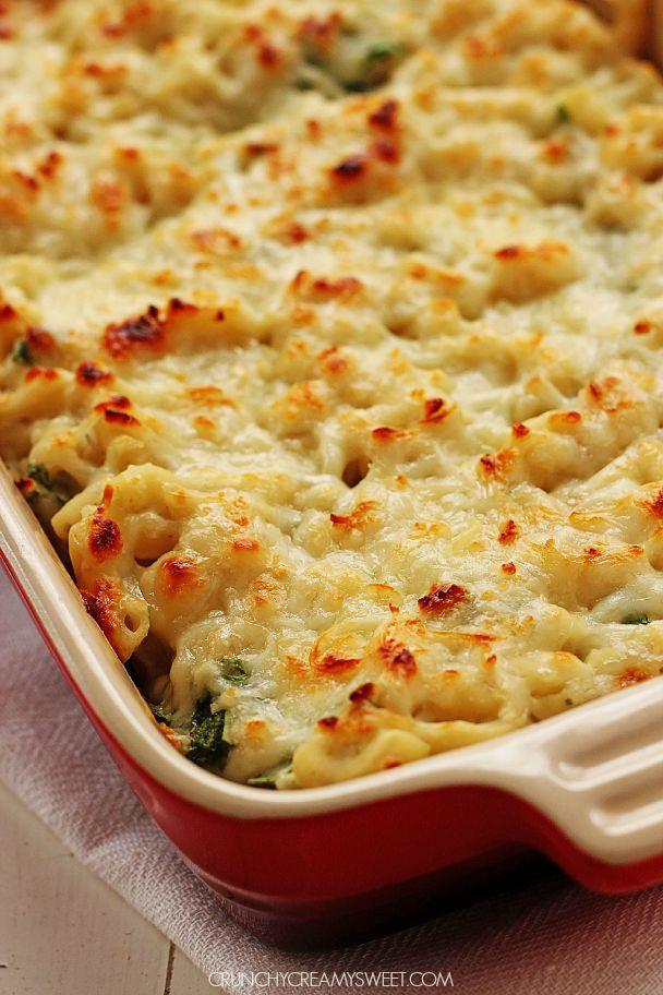 Healthy Baked Macaroni And Cheese  Pasta Carbonara Crunchy Creamy Sweet