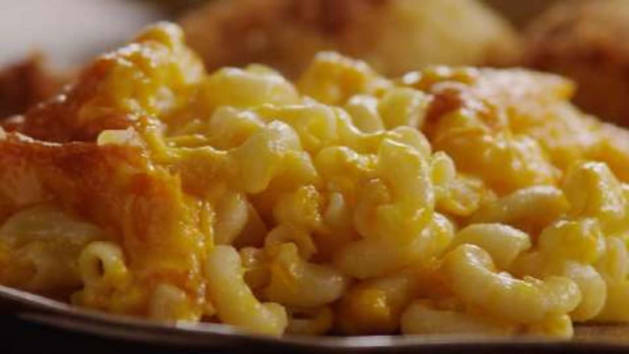Healthy Baked Macaroni And Cheese  Mom s Baked Macaroni and Cheese Video Allrecipes