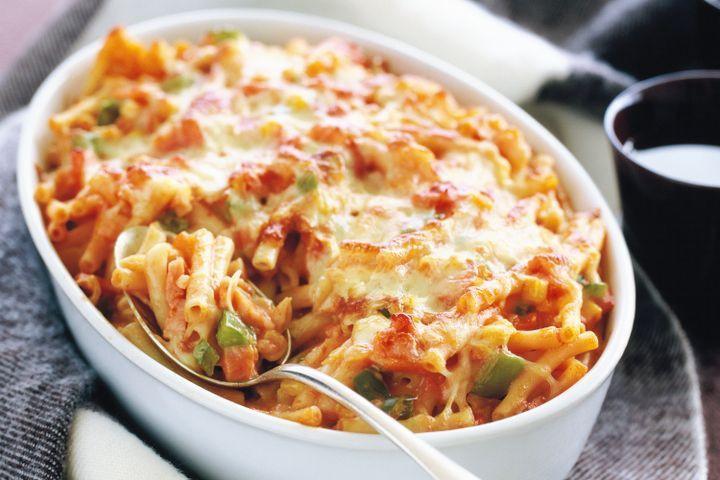 Healthy Baked Macaroni And Cheese  Tomato macaroni cheese bake