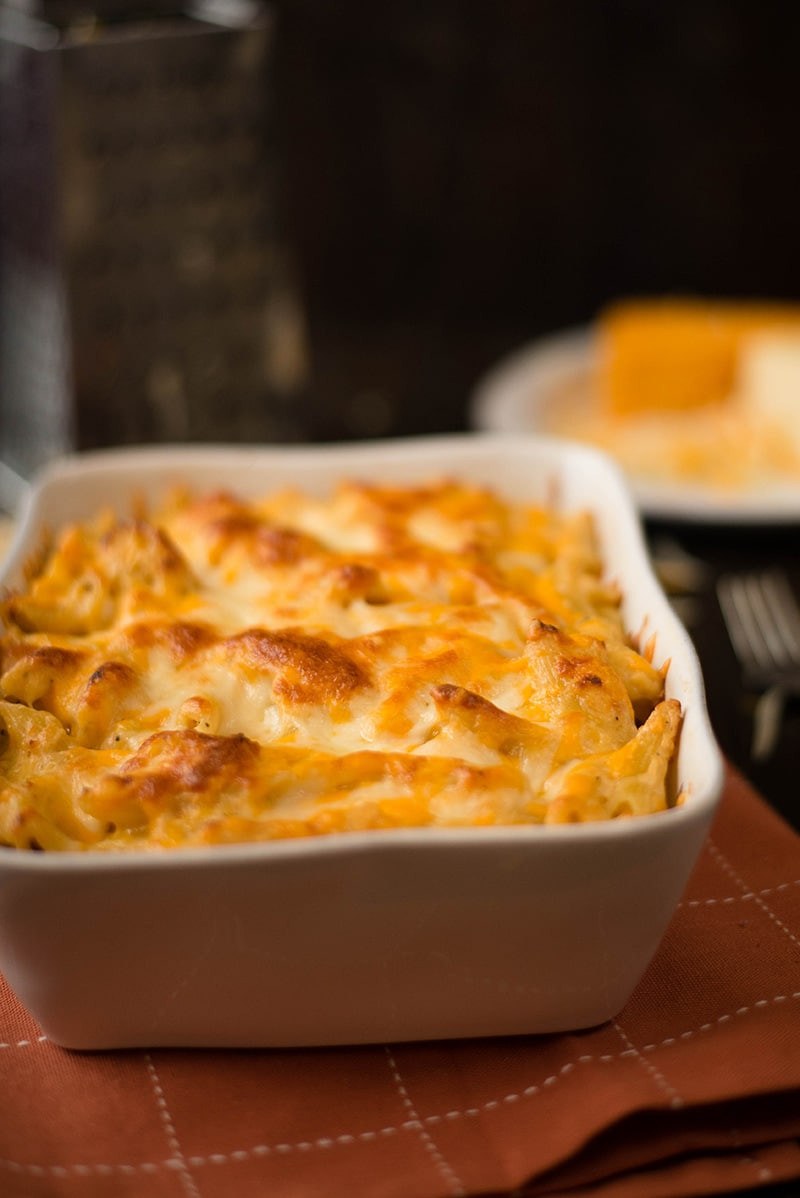Healthy Baked Macaroni And Cheese  Baked Mac n Cheese • A Sweet Pea Chef