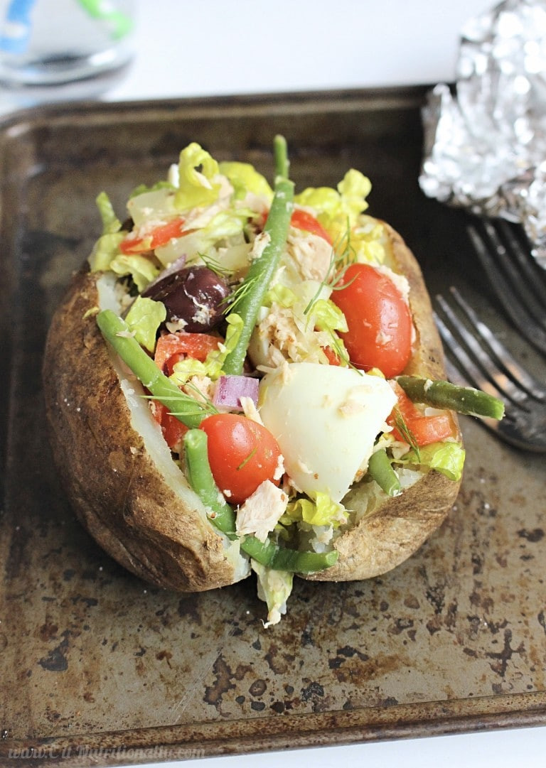 Healthy Baked Potato  Following Potatoes from Farm to Fork