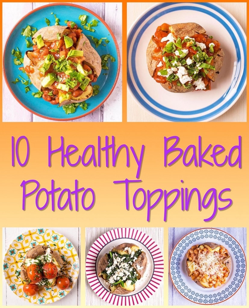 Healthy Baked Potato  10 Healthy Baked Potato Toppings Hungry Healthy Happy