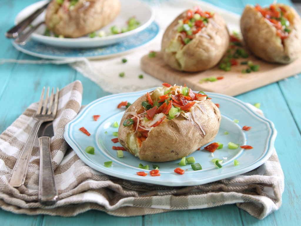 Healthy Baked Potato  Quick and Healthy Baked Potatoes BigOven