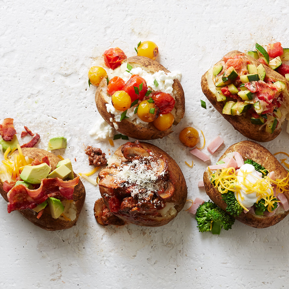 Healthy Baked Potato  Hot Potato 10 Healthy Baked Potato Toppings You Haven't