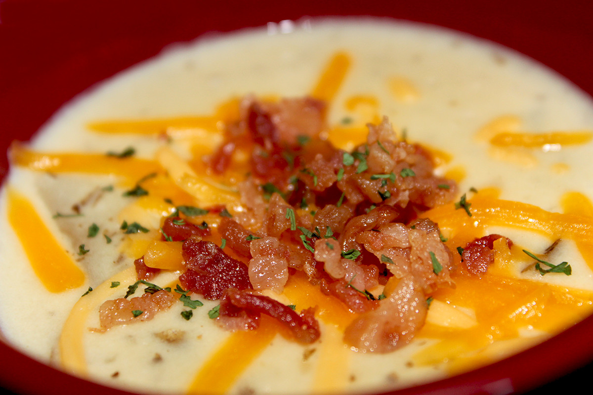 Healthy Baked Potato Soup  Healthy Baked Potato Soup The Life and Style of Nichole