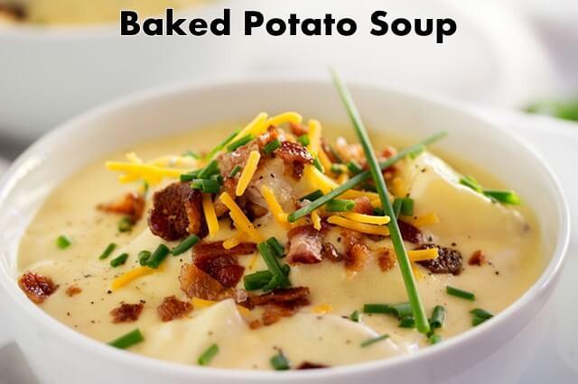 Healthy Baked Potato Soup  Baked Potato Soup Healthy Recipes SelfGrowth