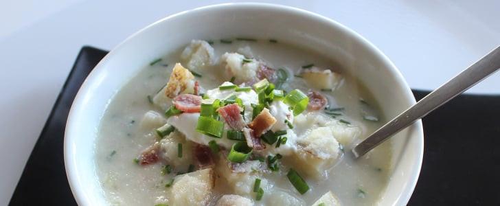 Healthy Baked Potato Soup  Healthy Baked Potato Soup