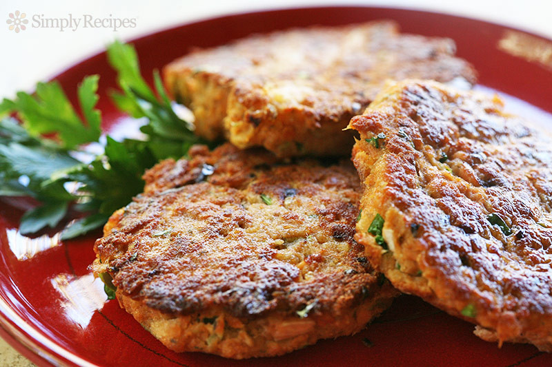 Healthy Baked Salmon Patties  Salmon Cakes Feelings Are Delicious iWellness