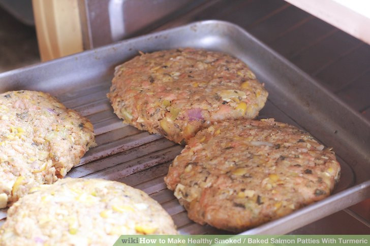 Healthy Baked Salmon Patties  How to Make Healthy Smoked Baked Salmon Patties With