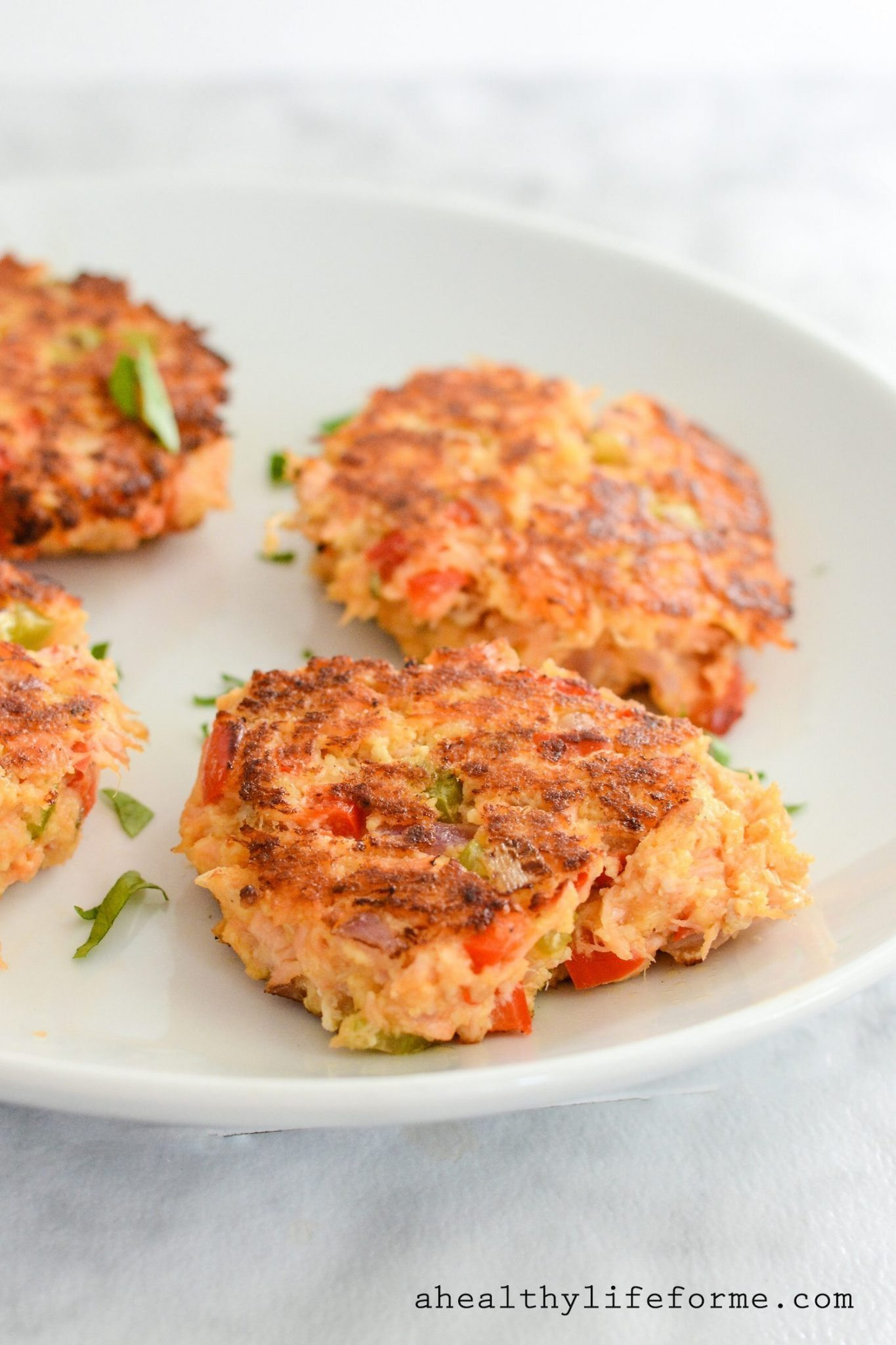 Healthy Baked Salmon Patties  Paleo Salmon Cakes A Healthy Life For Me