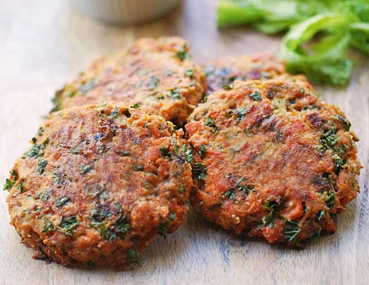 Healthy Baked Salmon Patties  Baked Salmon Patties Low Carb and Gluten Free
