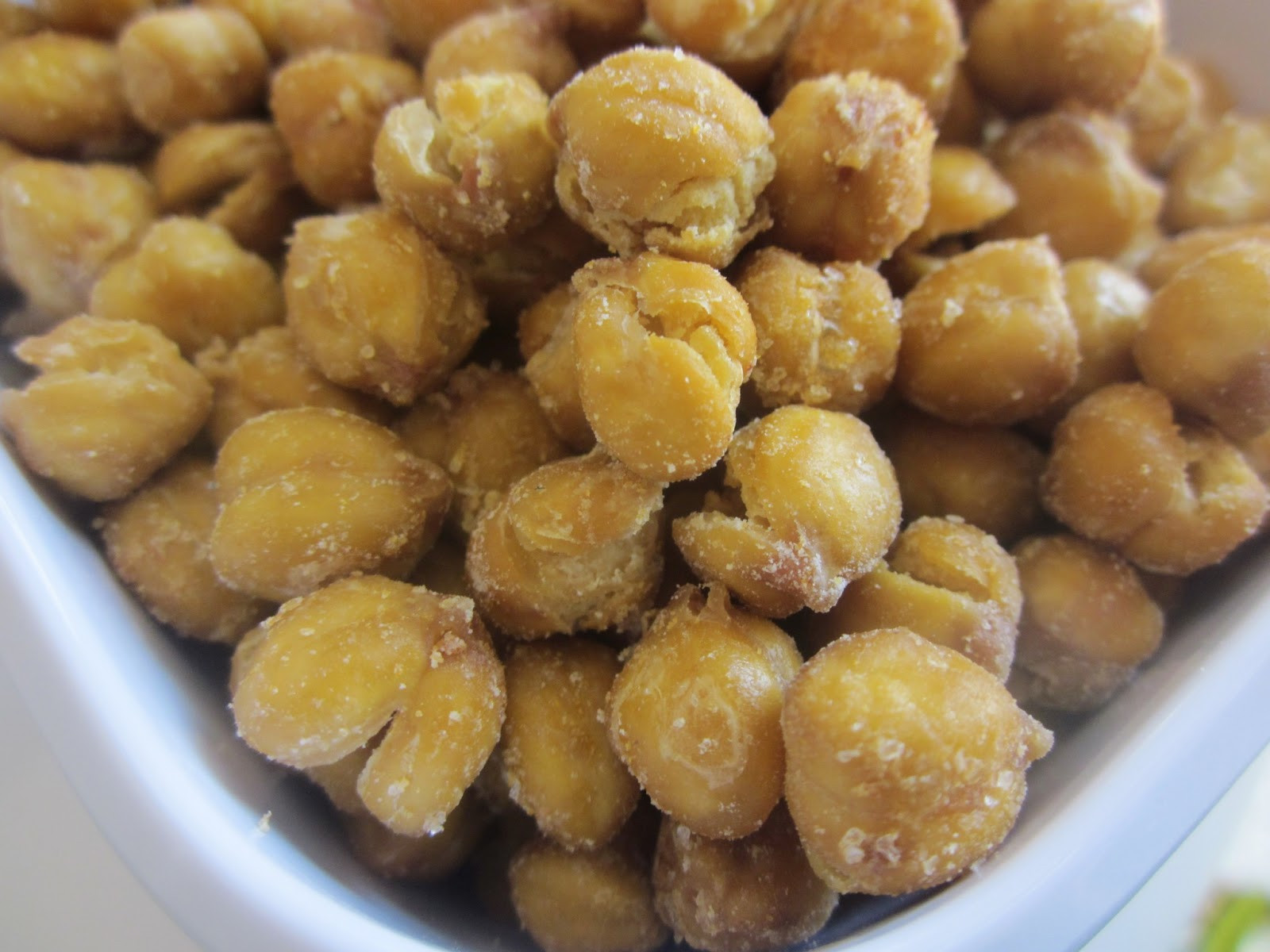 Healthy Baked Snacks  Chef Tess Bakeresse Healthy Chick Nuts Homemade Chickpea