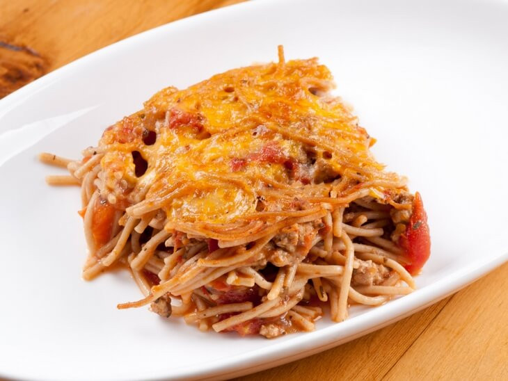 Healthy Baked Spaghetti  8 Healthy Spaghetti Recipes Clean Eating Recipes 90 10