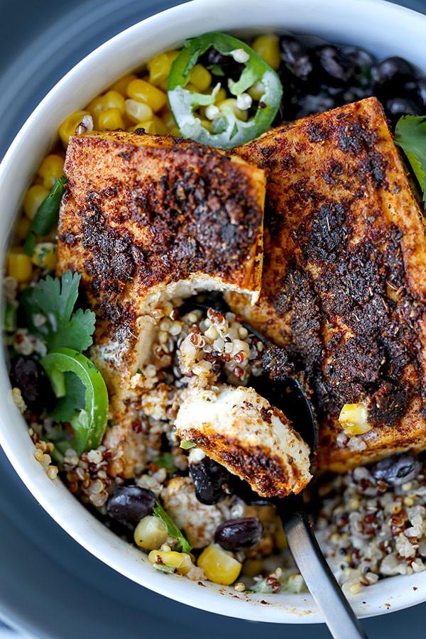 Healthy Baked Tofu Recipes  Southwestern Style Baked Tofu Steaks Pickled Plum Food