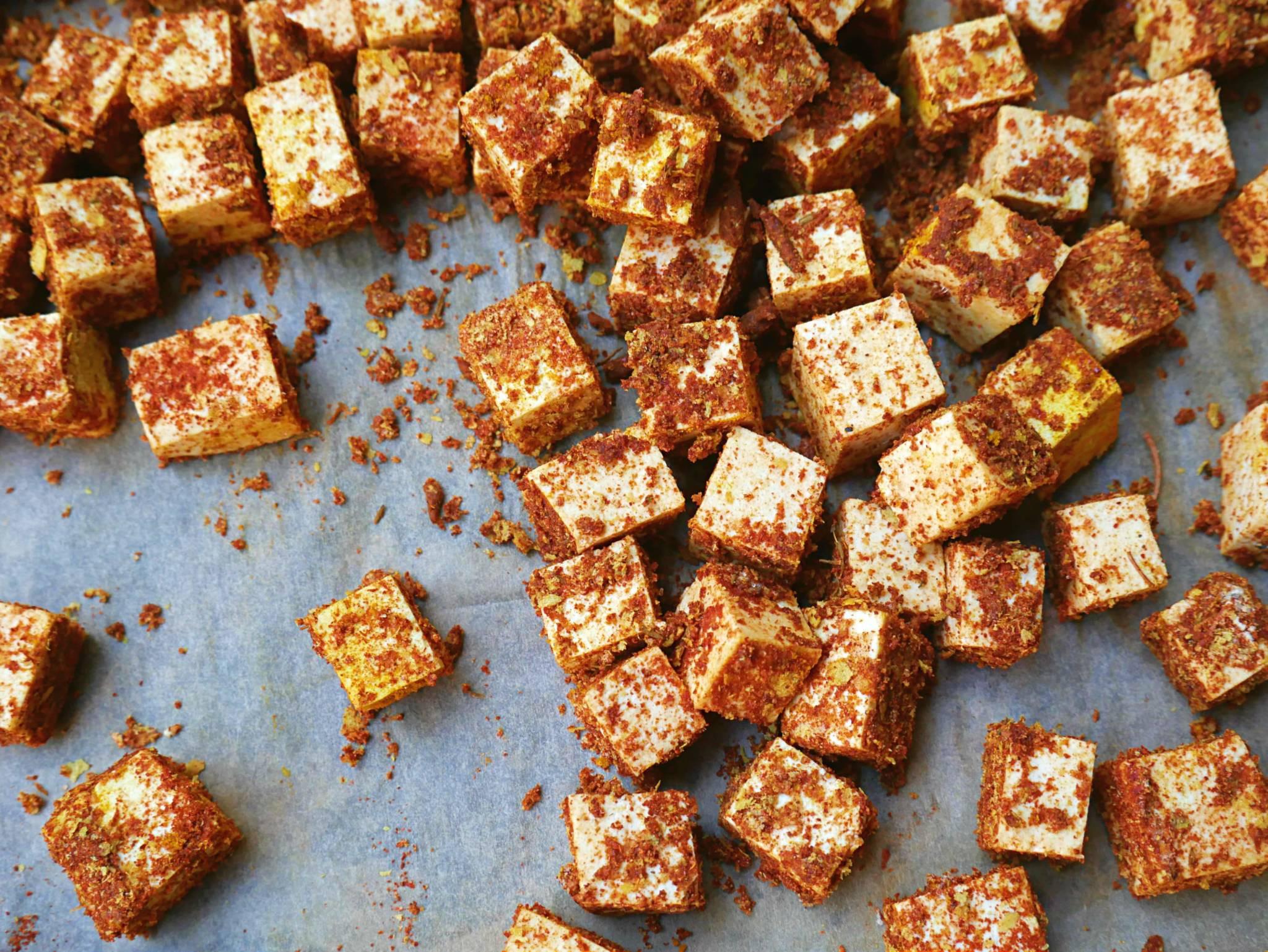 Healthy Baked Tofu Recipes  Baked Tofu Recipe Easy Healthy Oil Free Vegan Tofu