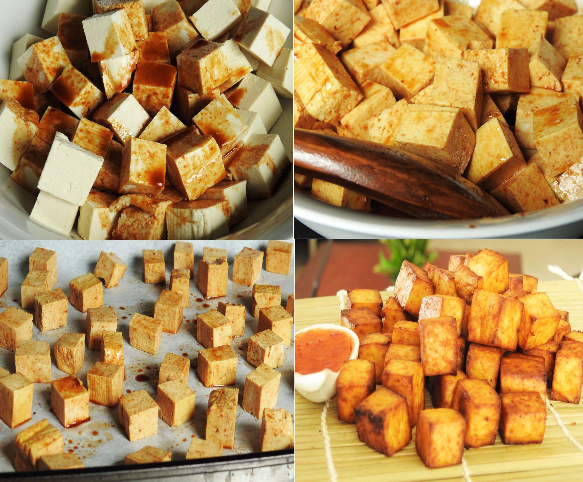 Healthy Baked Tofu Recipes  5 Ingre nts Baked Tofu Snack Healty Thai Recipes