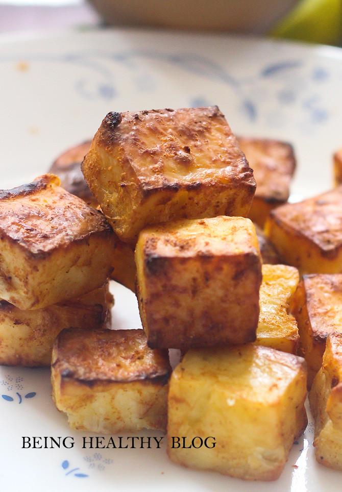 Healthy Baked Tofu Recipes  Healthy Baked Tofu Tikka Recipe How to make Tofu Tikka