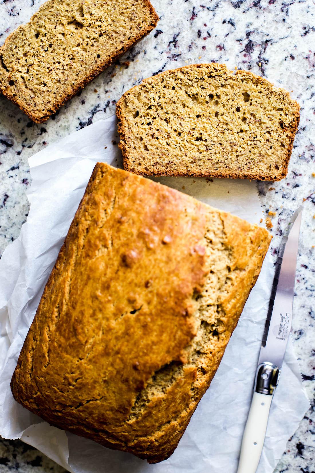 Healthy Banan Bread  Healthy e Bowl Banana Bread Recipe