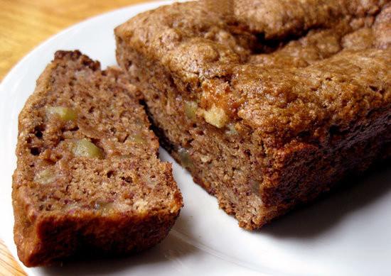 Healthy Banana Apple Bread  The Best Healthy Dessert Recipes