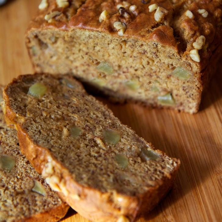 Healthy Banana Apple Bread  Easy And Healthy Vegan Banana Apple Chunk Bread Recipe
