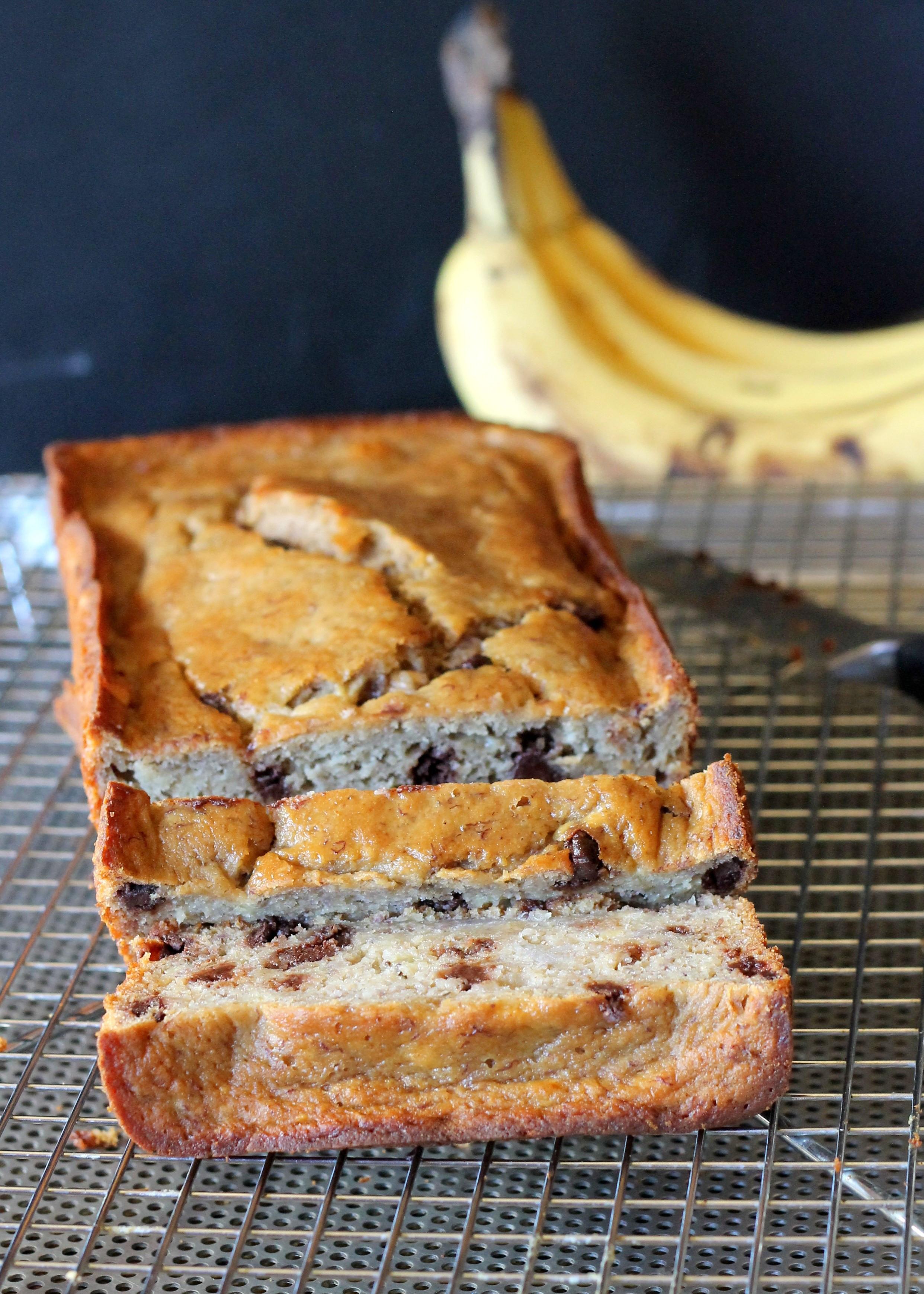 Healthy Banana Bread  Secretly Healthy Banana Bread Gluten Free