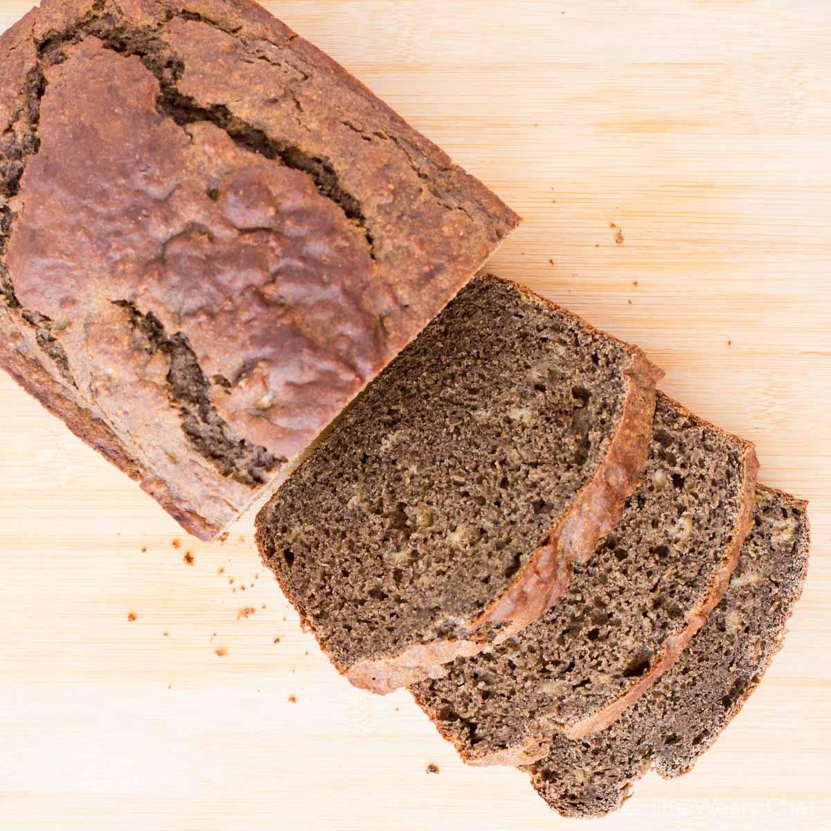 Healthy Banana Bread No Flour  Healthy Banana Bread Recipe with Buckwheat Flour The