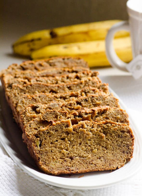 Healthy Banana Bread No Flour  Coconut Flour Banana Bread iFOODreal Healthy Family