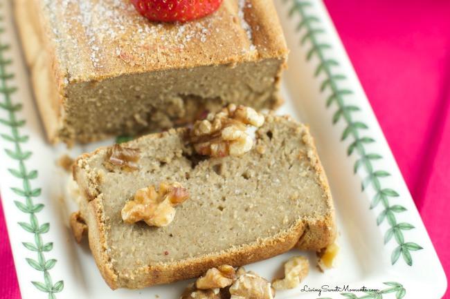 Healthy Banana Bread No Flour  Healthy Banana Oatmeal Bread No flour no sugar Living