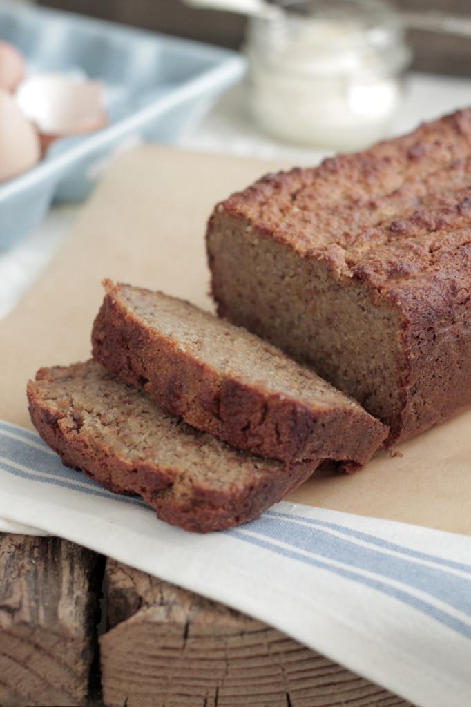 Healthy Banana Bread No Flour  Almond Flour Banana Bread Live Simply