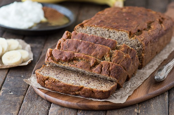 Healthy Banana Bread No Sugar  Healthier Banana Bread