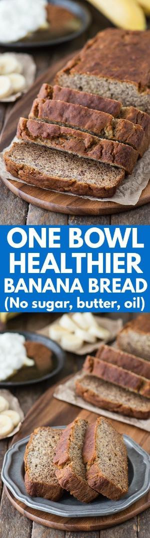 Healthy Banana Bread No Sugar  healthier no bake cookie bars with honey and coconut oil