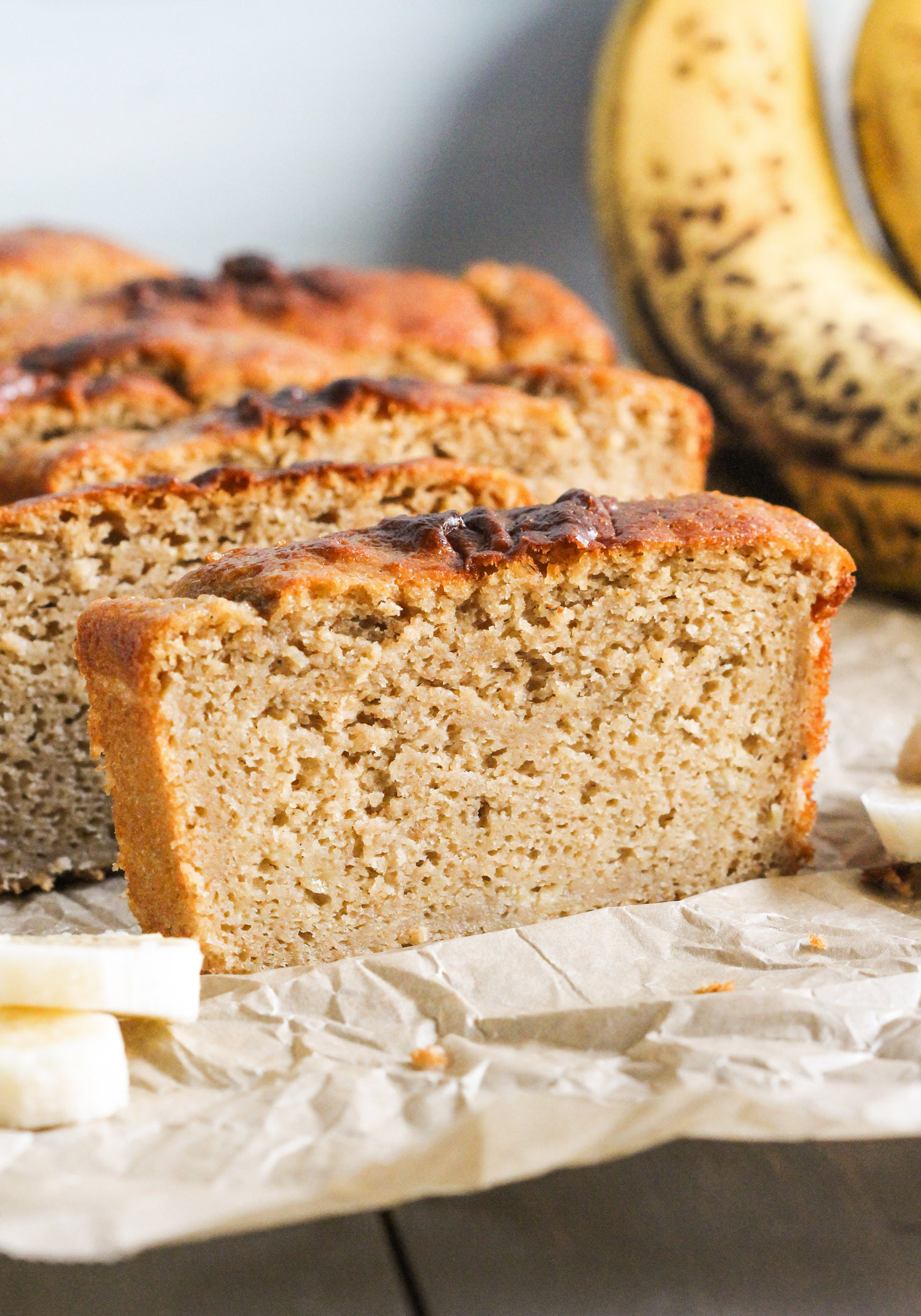 Healthy Banana Bread No Sugar  Healthy Banana Bread Pound Cake Recipe