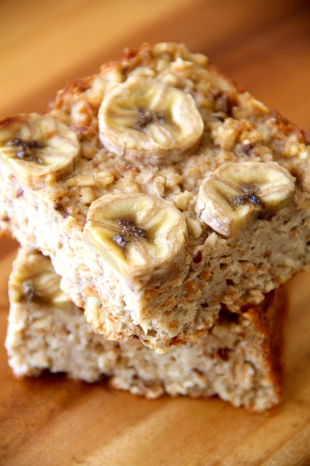 Healthy Banana Bread Pudding  Banana Oat Bread Pudding
