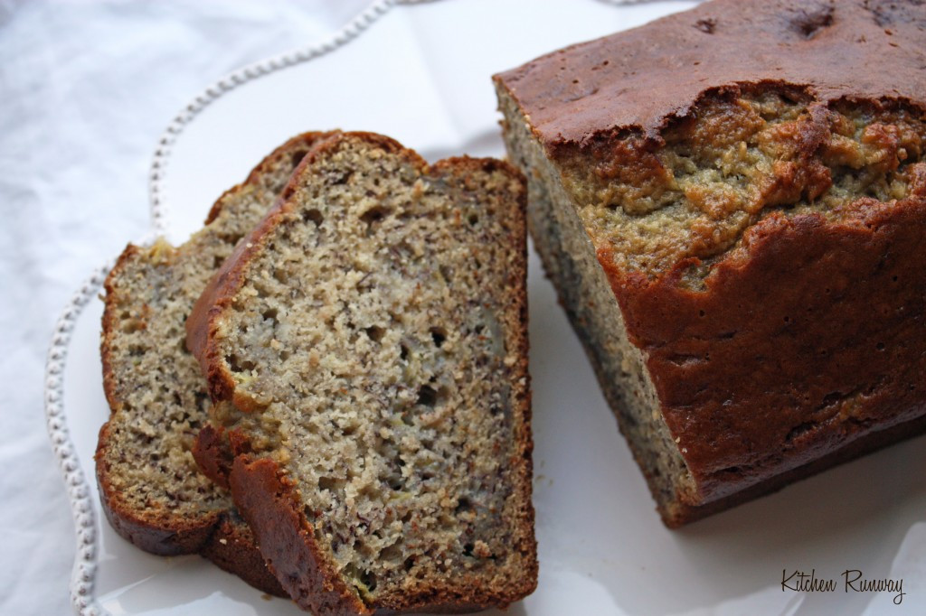 Healthy Banana Bread Recipe  easy banana nut bread recipe moist