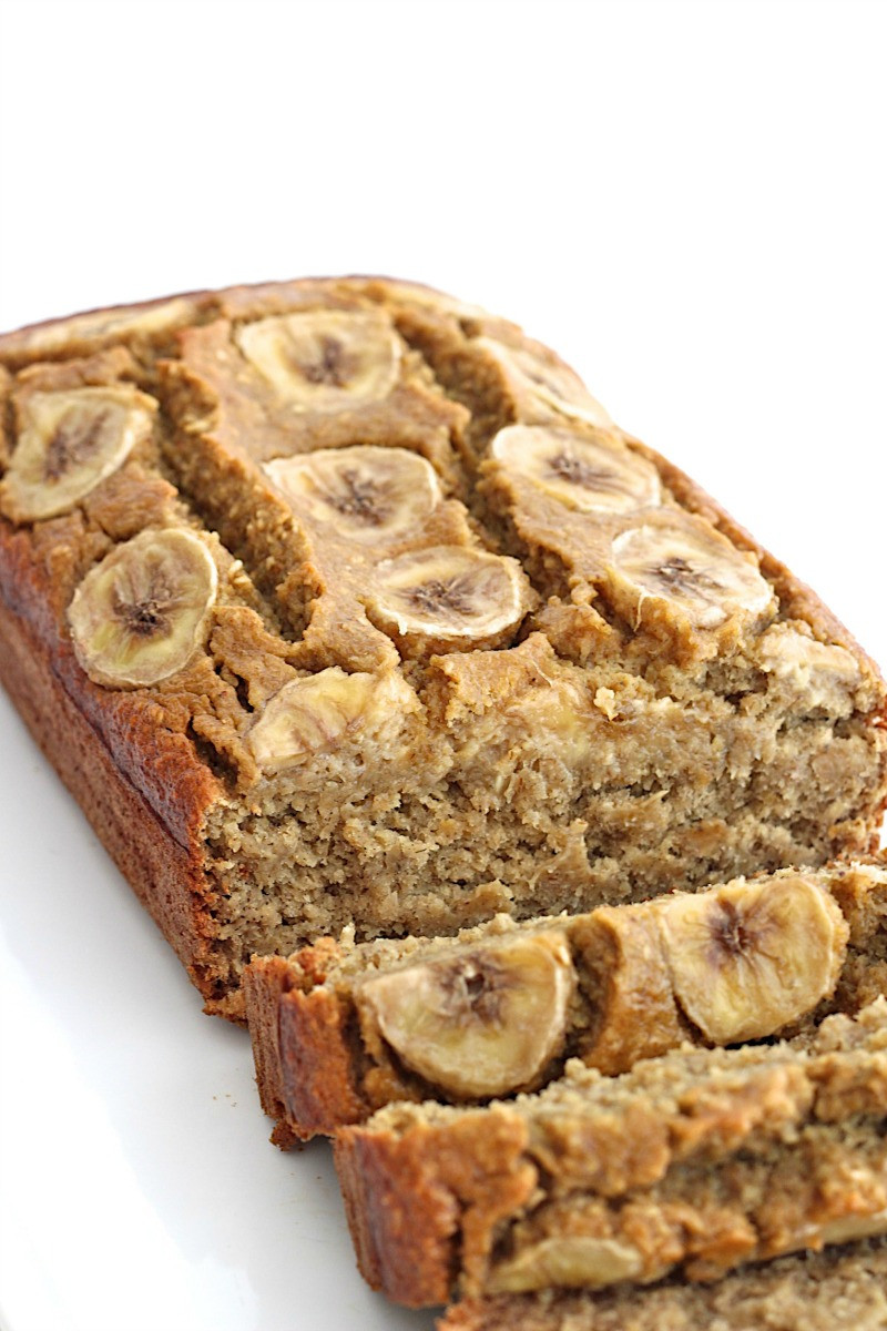 Healthy Banana Bread Recipe  Healthy 5 Ingre nt Flourless Banana Bread