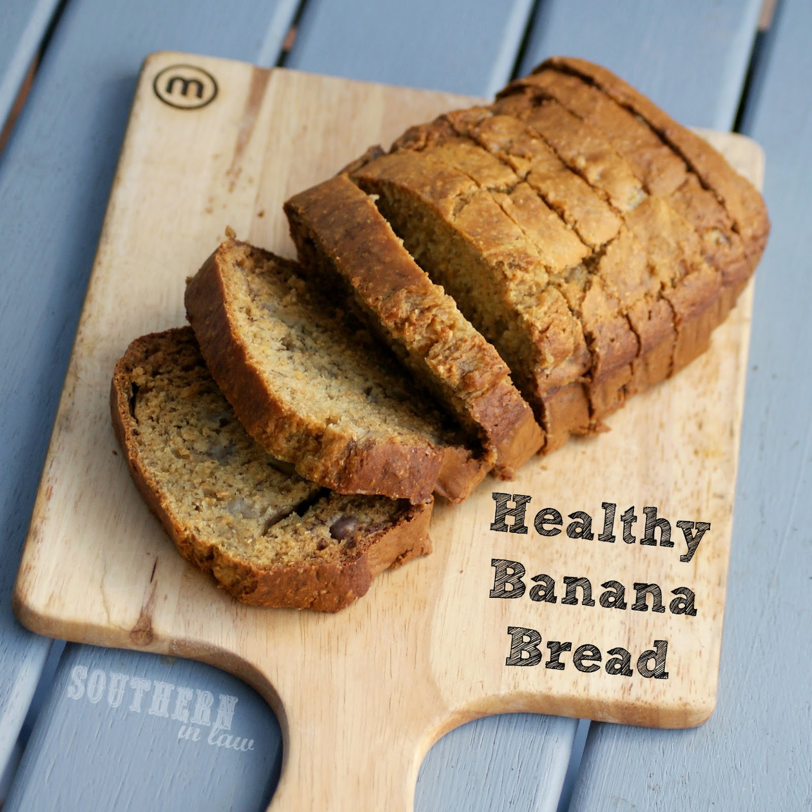 Healthy Banana Bread Recipe  Southern In Law Recipe Healthy Banana Bread