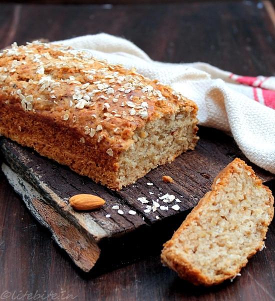Healthy Banana Bread Recipe With Oats  Gluten Free Vegan Recipes banana bread