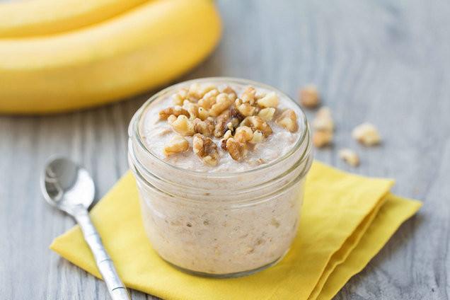 Healthy Banana Bread Recipe With Oats  Healthy Breakfast Recipes Banana Bread Overnight Oatmeal