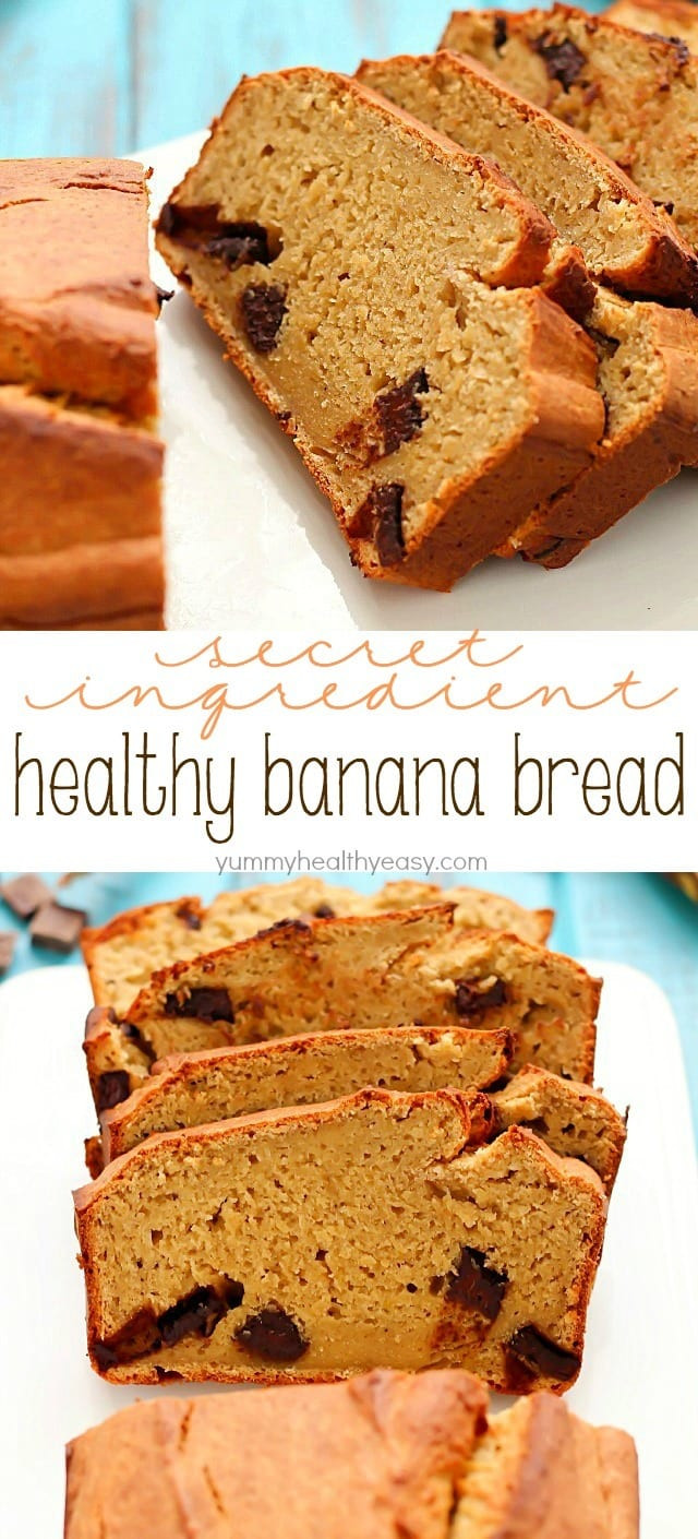 Healthy Banana Bread Recipes  Secret Ingre nt Healthy Banana Bread Recipe Yummy