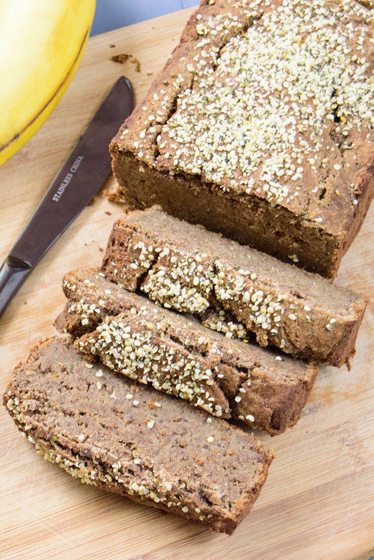 Healthy Banana Bread  Healthy banana bread High protein low fat gluten free