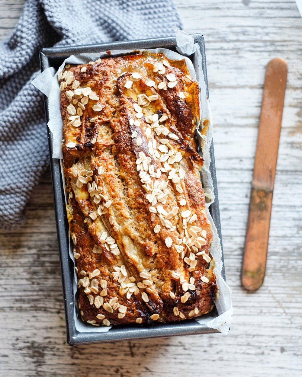 Healthy Banana Bread With Oats  Healthy Honey & Oat Banana Bread — Naturally Nutritious